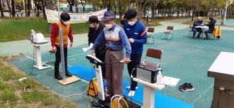더불어락노인복지관 111 시민행복걷기 동아리 활동
