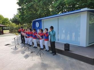 공연봉사단 버스킹공연활동(5월)